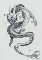 Oriental dragon by RussellAshley