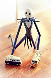 Jack Skellington playing by caithness155