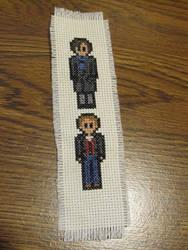 Sherlock and Watson Bookmark by DawnMLC