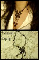 Steampunk Royalty by JynxsBox