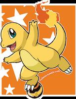Pokemon Day: Shiny Charmander by Volmise