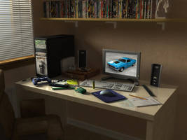 My Home Office by cowps