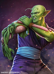 Piccolo regenerating by Logunkov