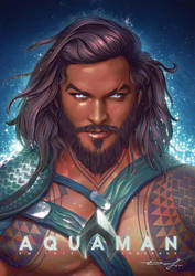 Aquaman by Logunkov