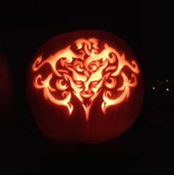 Devil Pumpkin 2013 by Dark-Yarrow