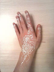 White Mehendi by Verachana
