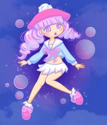 Floating Bubblegirl by Deadsushii