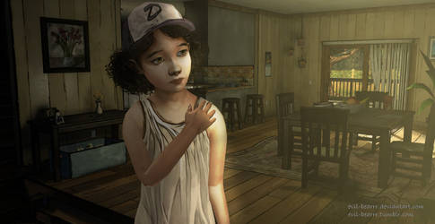 Clem at Home by evil-bearrr