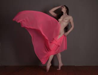 Elle Beth - Pink Chiffon by Satyruk2000
