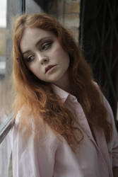 Heather May Corvid - Pensive by Satyruk2000