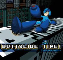 Megaman Buttslide colors by ZaxZero