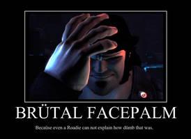 Brutal Facepalm by Xanokah
