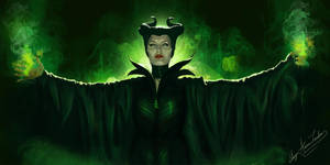 Maleficent by GingerAnneLondon