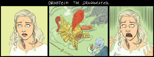Ornstein The DragonEater by amarcus88LG