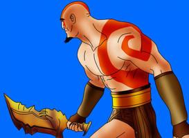 God of War by Vierna-Drottingu