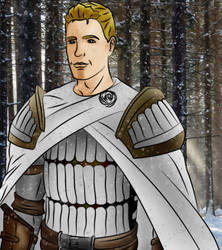 Winter in Ferelden - colored by Vierna-Drottingu