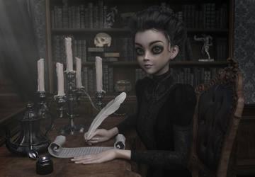 A Victorian Creepy Fairytale 001 by SirTancrede