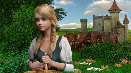 A Medieval Fairytale 001 by SirTancrede