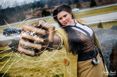 Punching Through the Interdimensional Barrier by MissKittyRI