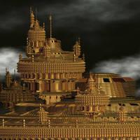 Samurai Palace by AureliusCat
