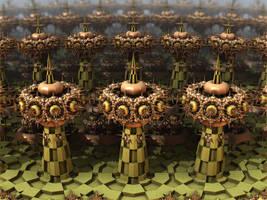 Defense Towers by AureliusCat