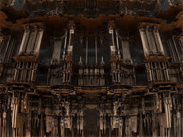 Eerie Edifice by AureliusCat