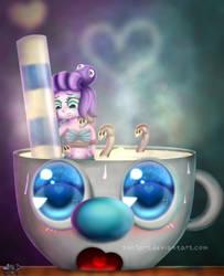 Calamari and Mugman by SNO7ART