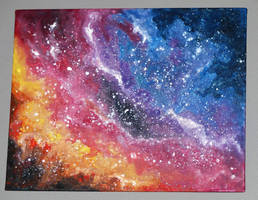 Colourful Galaxy by BreigeWillow