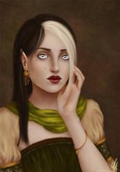 Saralonde Taur'Amandil by Nehym