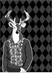 Best Dressed Deer by ozono203