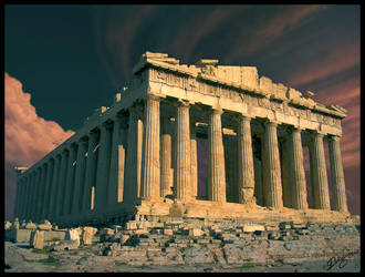 Parthenon by Deligaris