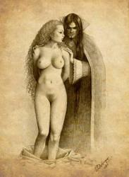 Vampire victim by Deligaris