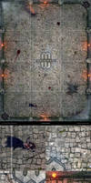 Mage Wars - Arena game board by Deligaris