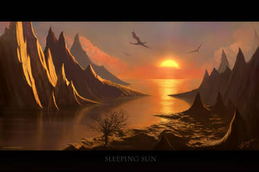Sleeping Sun by Deligaris