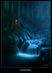 Moonlit Dream by Deligaris