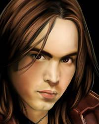 Portrait of Bobby - Close Up by lestat2007
