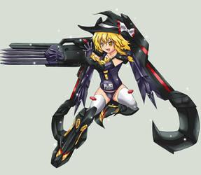 Touhou MGS Marisa by yo-chaosangel