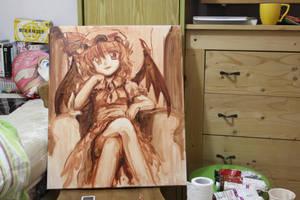 Remilia Oil Painting Rough by yo-chaosangel