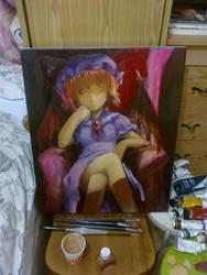 Remilia Oil Painting 30percent by yo-chaosangel