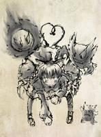 Touhou PC - Orin B by yo-chaosangel