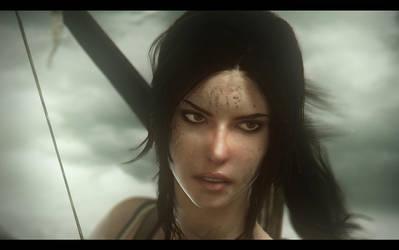 Lara Closeup by AnubisDHL