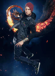 Delsin Rowe by AnubisDHL