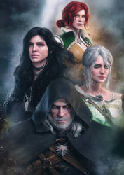 The Witcher by AnubisDHL