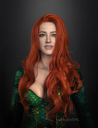 Mera (Amber Heard) by AnubisDHL