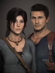 Lara and Nathan by AnubisDHL