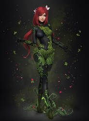 Poison Ivy New52 by AnubisDHL