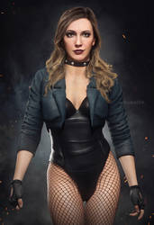 Black Canary (Katie Cassidy) by AnubisDHL