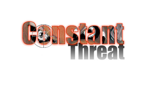 Constant Threat title design by EdGPatterson