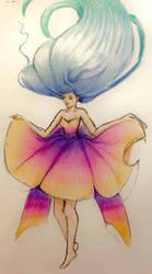 Pencil color practice by giselancarani