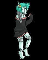 .nonsensical robot. by voltafiish